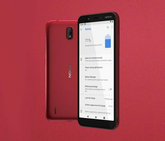 Nokia C1, un nouveau smartphone très abordable
