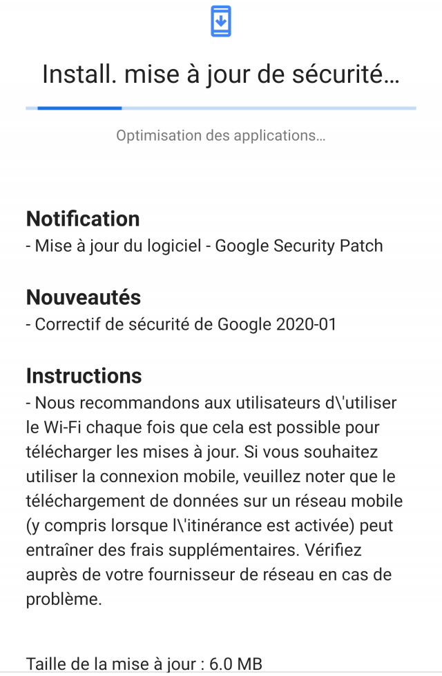 Nokia 9 PV Android Secu Patch 20