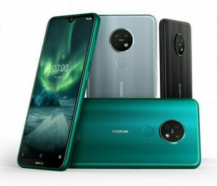 Le Nokia 7.2 reçoit une nouvelle mise à jour Android 9 Pie