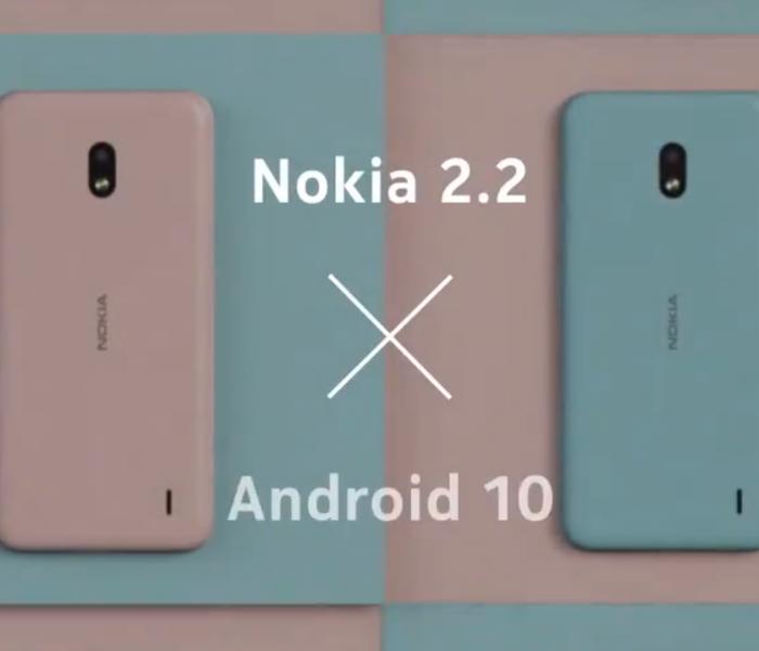 Android 10 en cours de déploiement pour le Nokia 2.2