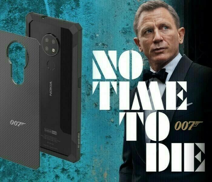 Nokia Mobile annonce une coque en kevlar marquée «007» pour les Nokia 6.2 et 7.2