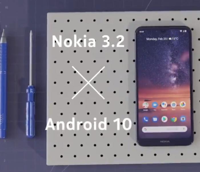 Android 10 en cours de déploiement pour le Nokia 3.2