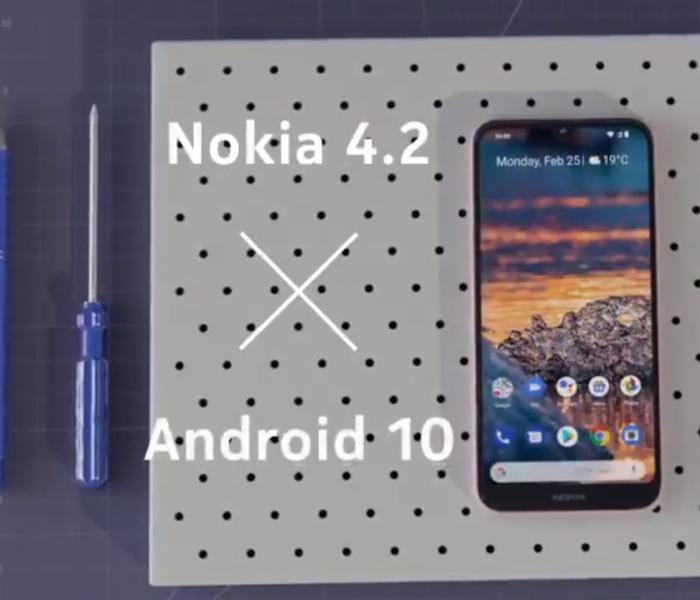 Android 10 en cours de déploiement pour le Nokia 4.2