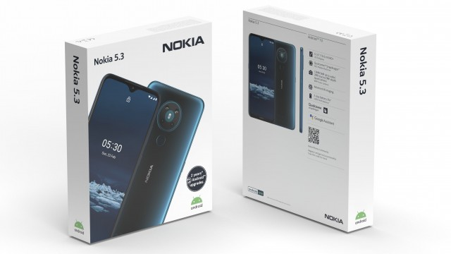 Nokia 5.3 packaging