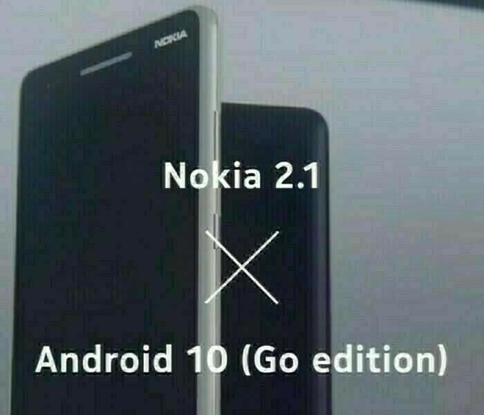 Android 10 Go en cours de déploiement pour le Nokia 2.1