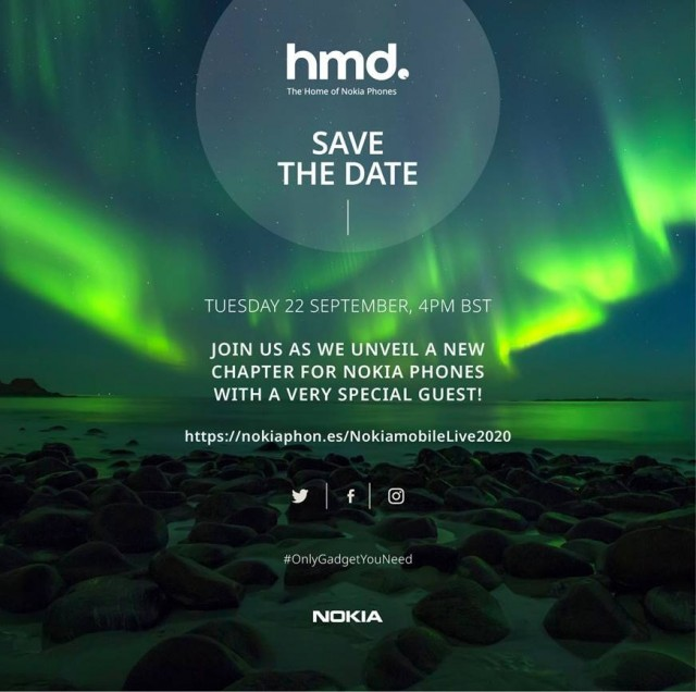 Nokia Mobile Event Sept 2020
