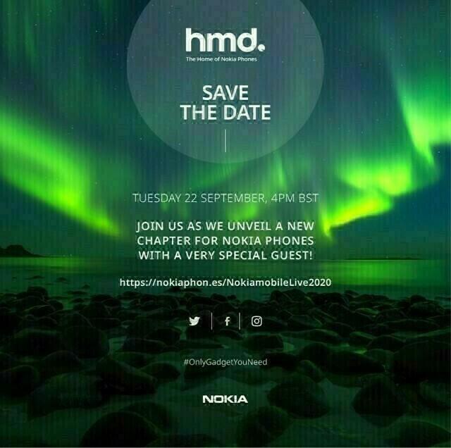 Nokia Mobile Event Sept 2020
