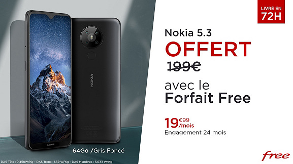 Nokia 53 Veepee Free