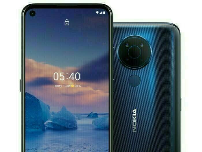 Nokia 5.4 : quatre capteurs photo et un petit prix